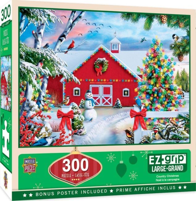 Country Christmas Puzzle