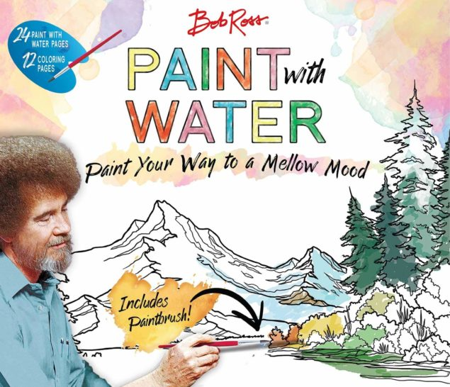Bob Ross Paint with Water Book