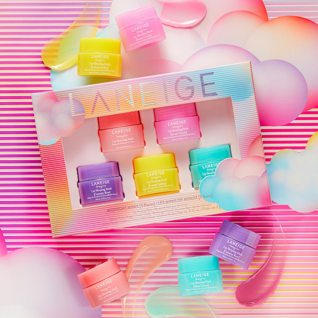 Laneige Lip Mask Gift Set. Would make such a fun gift for teens, friends and so perfect favorite things parties.